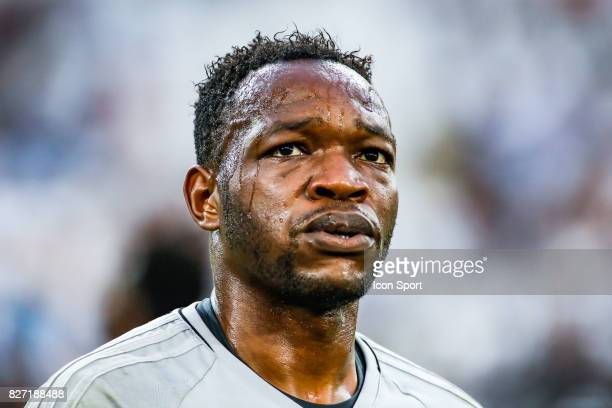 Steve Mandanda of Marseille during the Ligue 1 match between Olympique Marseille vs Dijon FCO at Stade Velodrome on August 6 2017 in Marseille France...