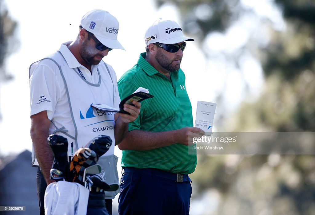 <a gi-track='captionPersonalityLinkClicked' href=/galleries/search?phrase=Steve+Marino&family=editorial&specificpeople=4333620 ng-click='$event.stopPropagation()'>Steve Marino</a> waits to tee off on the third tee during the first round of the Barracuda Championship at the Montreux Golf and Country Club on June 30, 2016 in Reno, Nevada.
