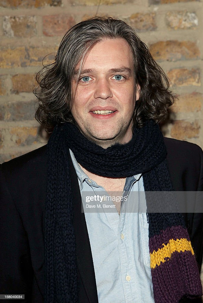 Steve Marmion attends an after party celebrating the 24 Hour Musicals Gala Performance at Vinopolis on December 9, 2012 in London, England.