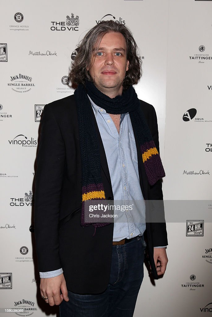 Steve Marmion attends the post-show party, The 25th Hour, following The Old Vic's 24 Hour Musicals Celebrity Gala 2012 during which guests drank Jack Daniels Single Barrel, Curtain Raiser cocktails in The Great Halls, Vinopolis, Borough on December 9, 2012 in London, England.