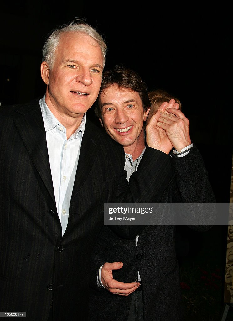 Steve Martin and Martin Short during Jerry Lewis Hosts Special Screening of 'The Nutty Professor' at Paramount Theater in Hollywood, California, United States.