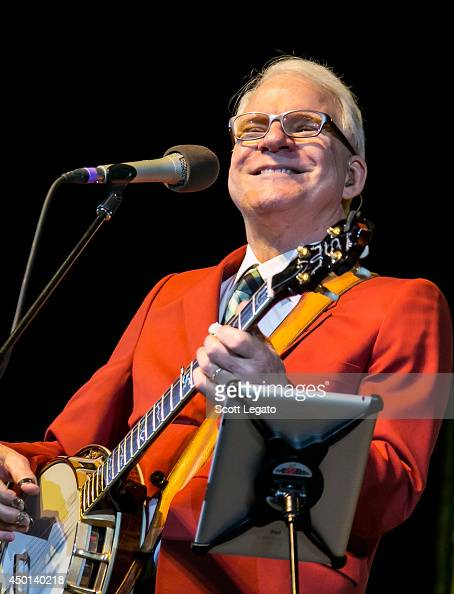 Steve Martin and the Steep Canyon Rangers perform at The Soundboard Motor City Casino on June 5 2014 in Detroit Michigan