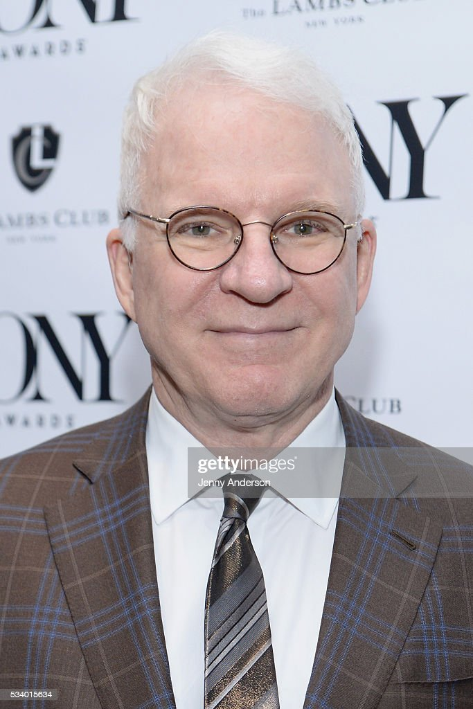 <a gi-track='captionPersonalityLinkClicked' href=/galleries/search?phrase=Steve+Martin+-+Comedian&family=editorial&specificpeople=196544 ng-click='$event.stopPropagation()'>Steve Martin</a> arrives at A Toast To The 2016 Tony Awards Creative Arts Nominees at The Lambs Club on May 24, 2016 in New York City.