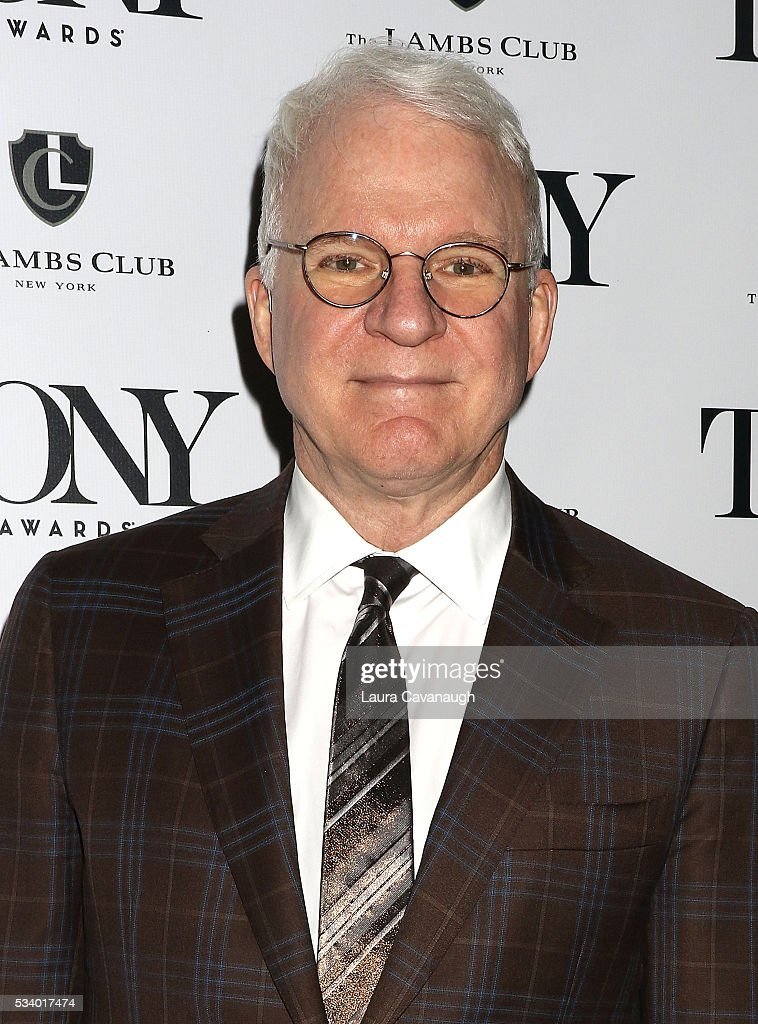 <a gi-track='captionPersonalityLinkClicked' href=/galleries/search?phrase=Steve+Martin&family=editorial&specificpeople=196544 ng-click='$event.stopPropagation()'>Steve Martin</a> attends A Toast to The 2016 Tony Awards Creative Arts Nominees on May 24, 2016 in New York City.