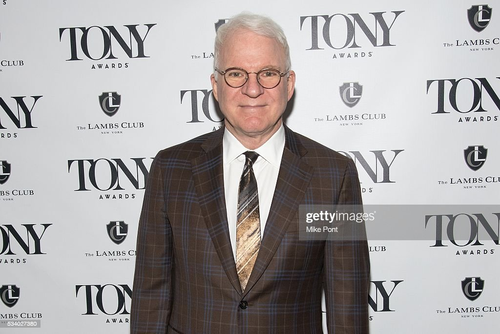 <a gi-track='captionPersonalityLinkClicked' href=/galleries/search?phrase=Steve+Martin&family=editorial&specificpeople=196544 ng-click='$event.stopPropagation()'>Steve Martin</a> attends A Toast to the 2016 Tony Awards Creative Arts Nominees at The Lambs Club on May 24, 2016 in New York City.