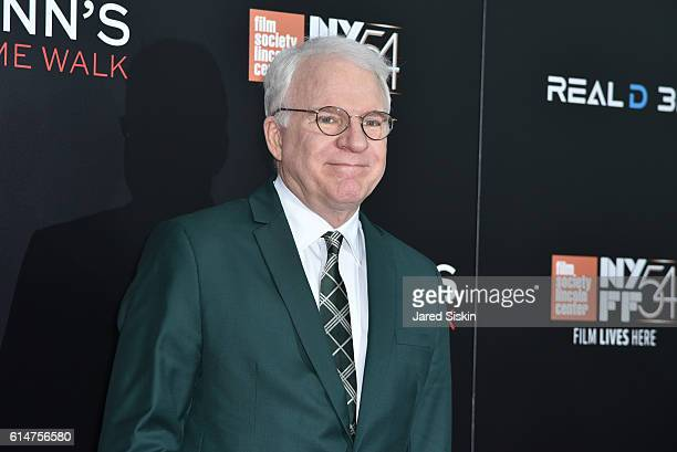 Steve Martin attends the 54th New York Film Festival 'Billy Lynn's Long Halftime Walk' Special World Premiere Presentation at AMC Lincoln Square...