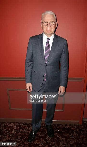 Steve Martin attends The 66th Annual Outer Critics Circle Awards Party at Sardi's on May 26 2016 in New York City