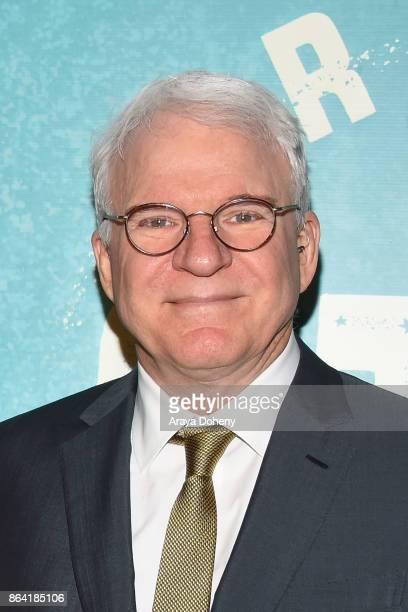 Steve Martin attends the opening night o 'Bright Star' at Ahmanson Theatre on October 20 2017 in Los Angeles California