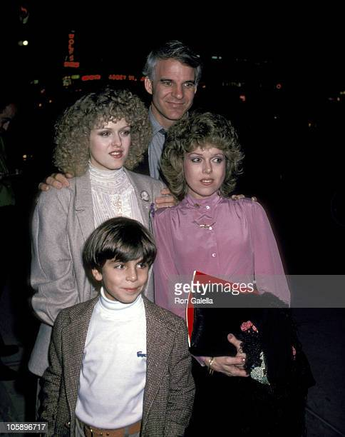 Steve Martin Bernadette Peters Her Sister and Her Nephew