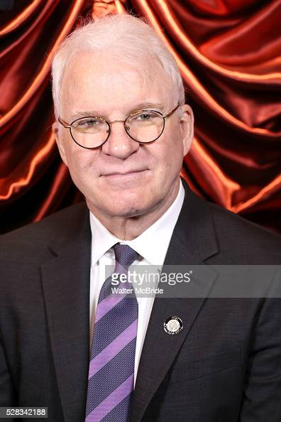 Steve Martin during the 2016 Tony Awards Meet The Nominees Press Reception at the Paramount Hotel on May 4 2016 in New York City