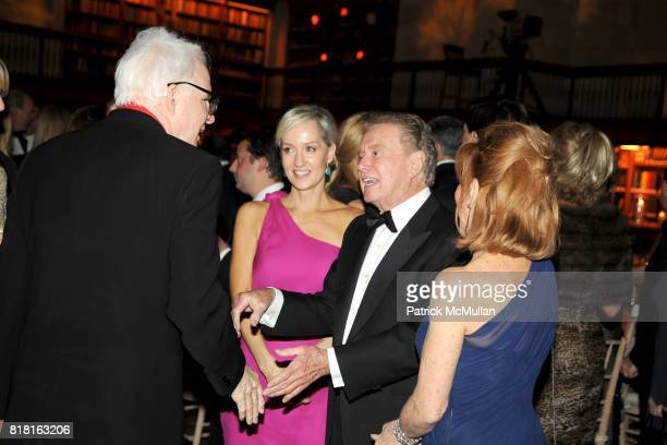 Steve Martin Hilary Gumbel Regis Philbin and Joy Philbin attend The 2010 YOUNG LIONS PARTY at The New York Public Library on November 1 2010 in New...