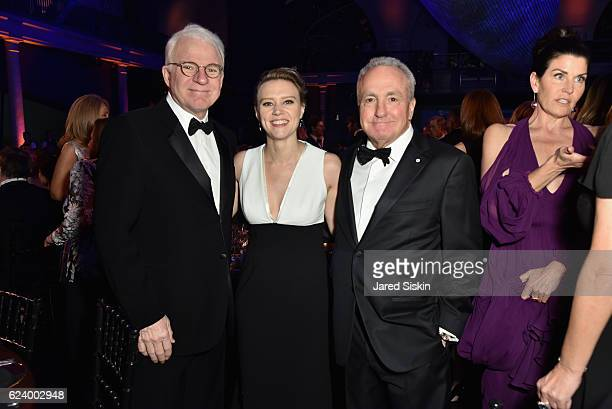 Steve Martin Kate McKinnon and Lorne Michaels attend the American Museum of Natural History's 2016 Museum Gala at American Museum of Natural History...
