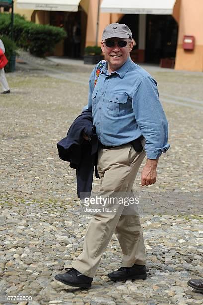 Steve McCurry attends Regate Pirelli Coppa Carlo Negri on April 29 2013 in Santa Margherita Ligure Italy