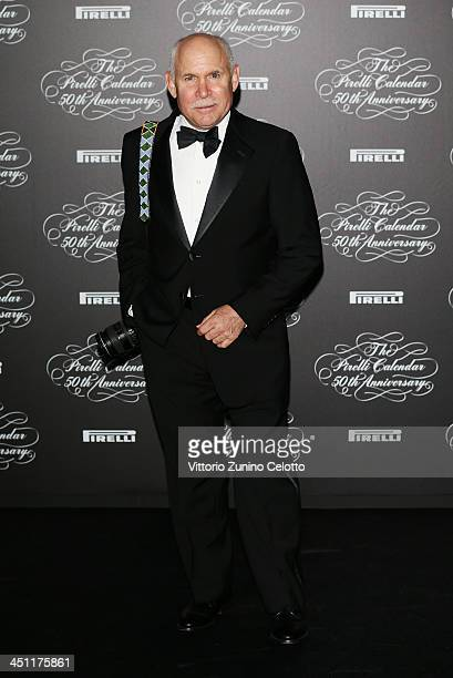 Steve McCurry attends the Pirelli Calendar 50th Anniversary event on November 21 2013 in Milan Italy