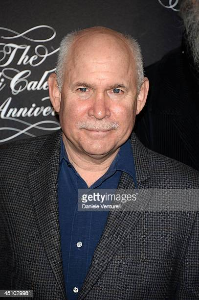 Steve McCurry attends the The Pirelli Calendar 50th Anniversary Press Conference on November 21 2013 in Milan Italy