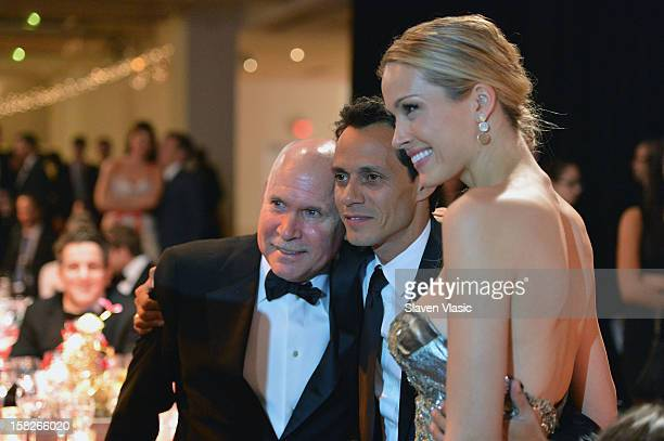 Steve McCurry Marc Anthony and Petra Nemcova attend the 2012 Happy Hearts Fund Land Of Dreams Mexico Gala at Metropolitan Pavilion on December 11...