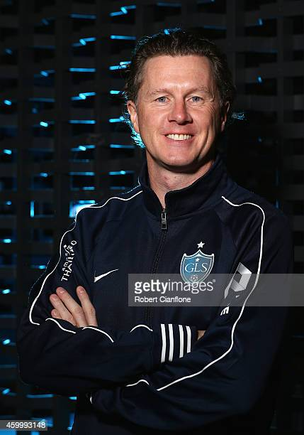 Steve McManaman poses during a Global Legends Series portrait session at the Swissotel on December 5 2014 in Bangkok Thailand