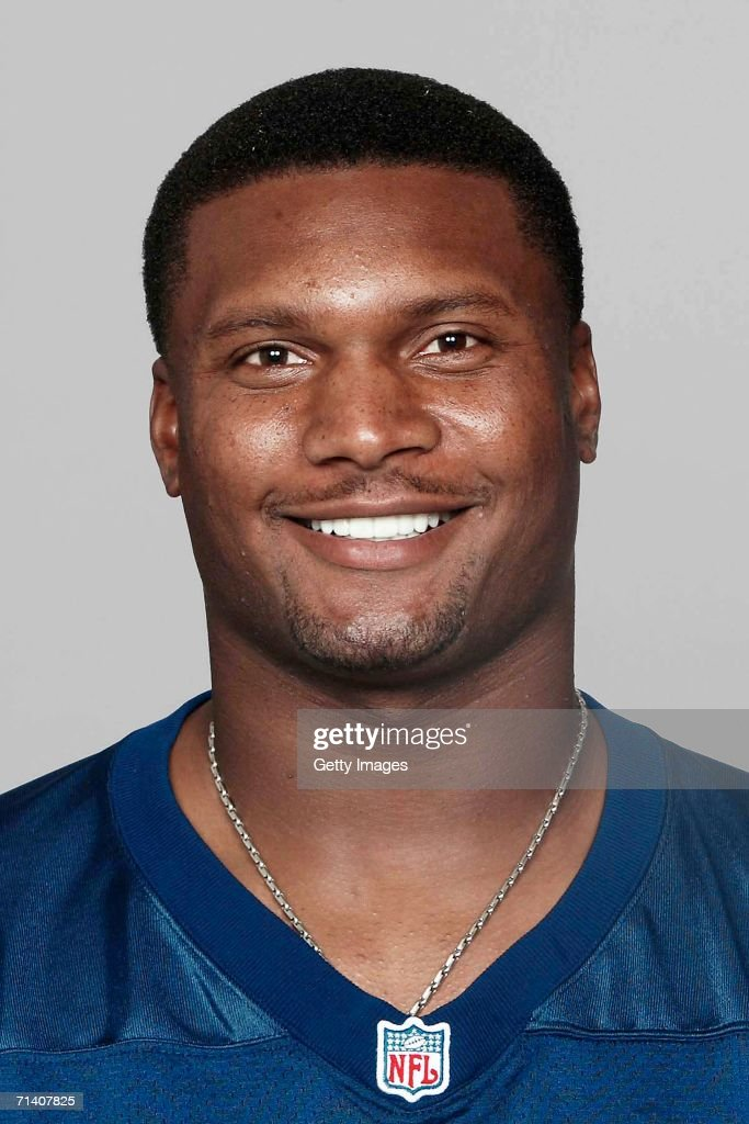 Steve McNair of the Tennessee Titans poses for his 2006 NFL headshot at photo day in Nashville Tennessee