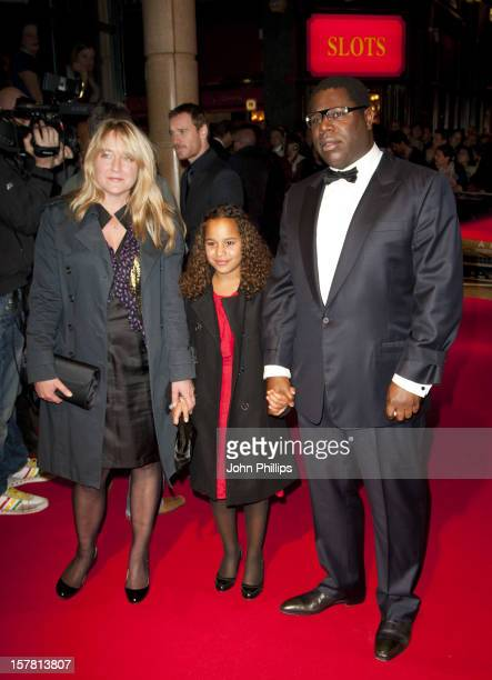 Steve Mcqueen And Family Arriving At The Premiere Of Shame At The Vue Cinema In Leicester Square Held As Part Of The Bfi London Film Festival
