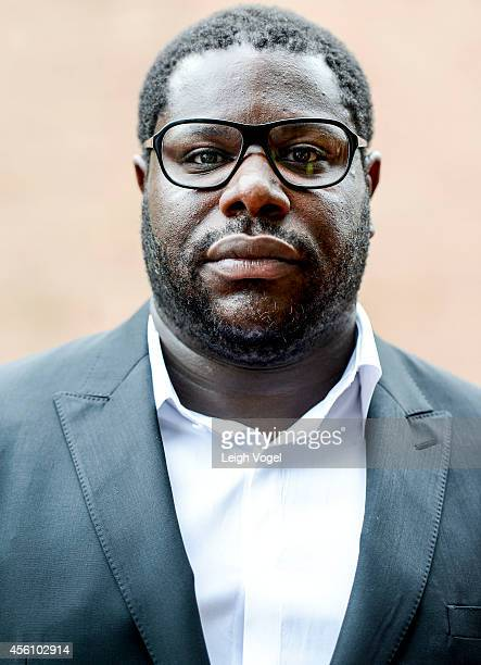 Steve McQueen arrives at '12 Years a Slave' Town Hall Discussion at Howard University on September 25 2014 in Washington DC
