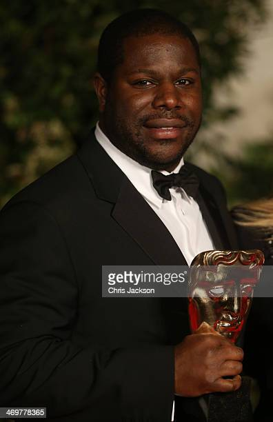Steve McQueen attends an official dinner party after the EE British Academy Film Awards at The Grosvenor House Hotel on February 16 2014 in London...