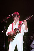 Steve Miller performing at Nassau Coliseum in Uniondale Long Island New York on August 12 1977