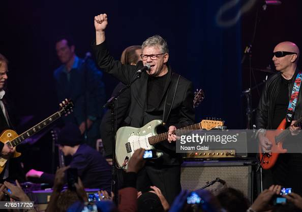 Steve Miller performs during Les Paul's 100th anniversary celebration at Hard Rock Cafe Times Square on June 9 2015 in New York City