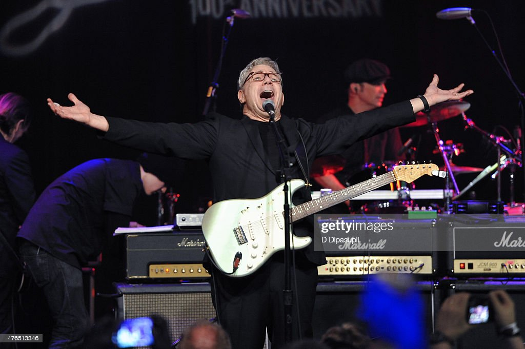 Steve Miller performs onstage during Les Paul's 100th Anniversary Celebration at the Hard Rock Cafe - Times Square on June 9, 2015 in New York City.