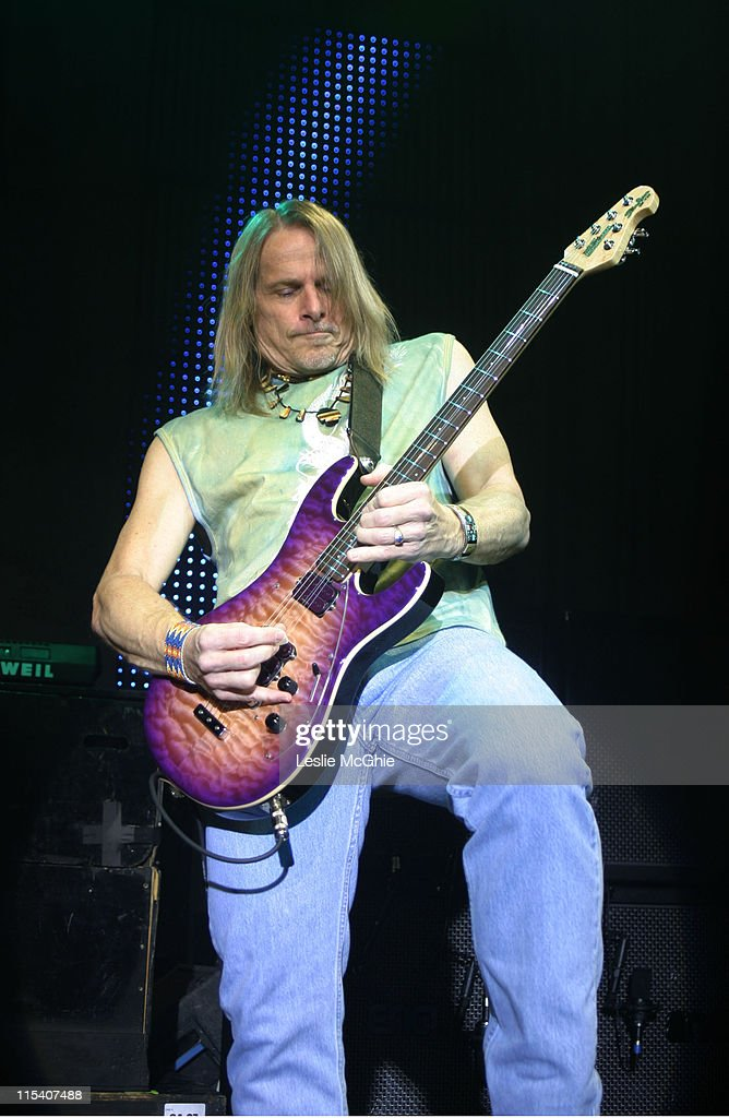 Steve Morse of Deep Purple during Deep Purple in Concert at The Astoria in London - January 17, 2006 at Astoria in London, Great Britain.