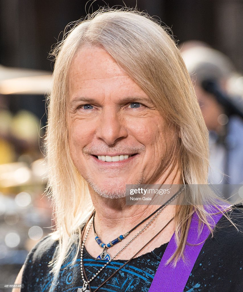 Steve Morse of Deep Purple performs on NBC's 'Today' at Rockefeller Plaza on July 23, 2015 in New York City.