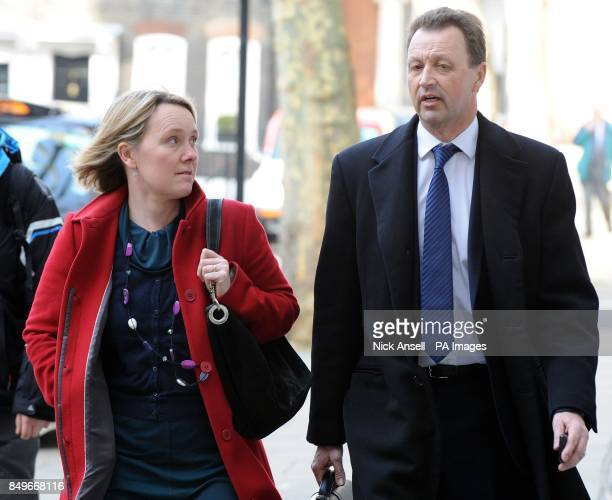 Steve Murrells Chief Executive of Cooperative stores arrives for a meeting with Environment Secretary Owen Paterson and other retailers at the Food...