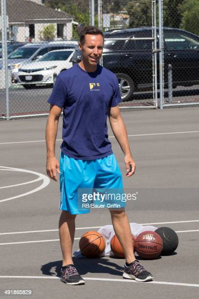 Steve Nash is seen on May 17 2014 in Los Angeles California