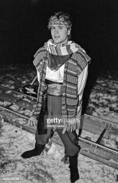 Steve Norman of Spandau Ballet photographed on location in the Kirkstone Pass Lake District Cumbria during the shooting of a promotional film for...