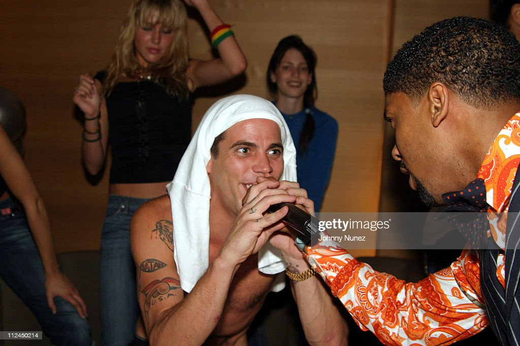 Steve O and Fonzworth Bentley during Butter's Two Year Anniversary at Butter in New York City, New York, United States.