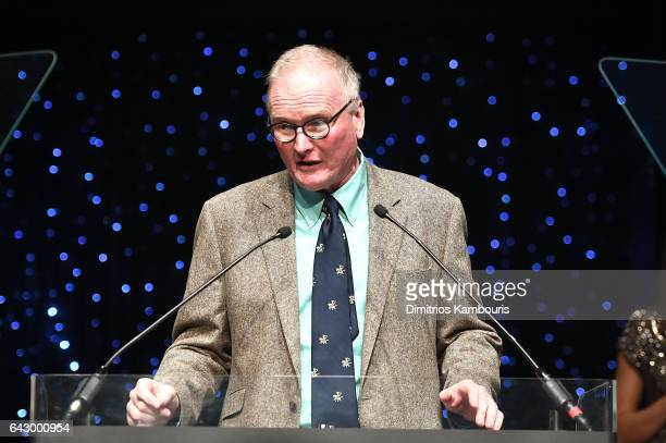 Steve O'Donnell speaks onstage during 69th Writers Guild Awards New York Ceremony at Edison Ballroom on February 19 2017 in New York City