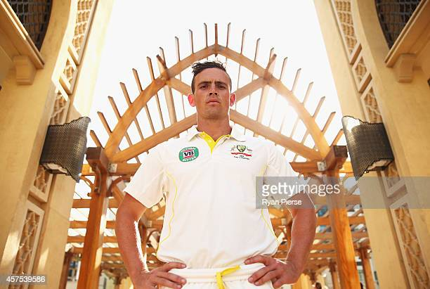 Steve O'Keefe of Australia poses at the Souk Al Bahar on October 20 2014 in Dubai United Arab Emirates