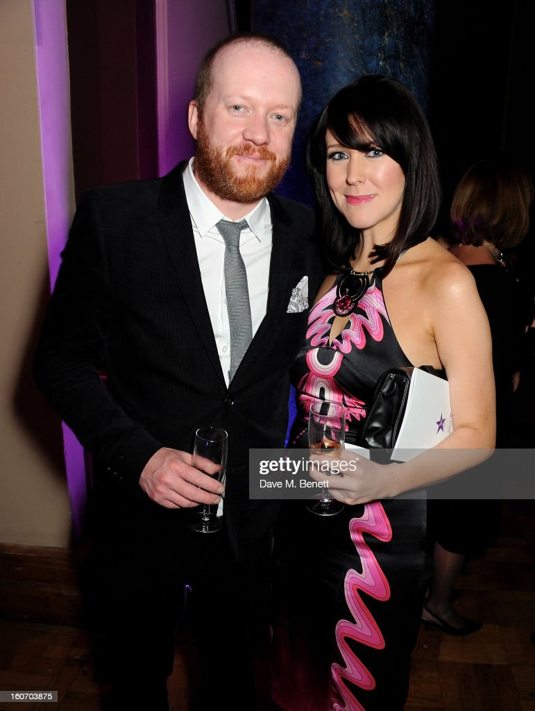 Steve Oram (L) and Alice Lowe attend the London Evening Standard British Film Awards supported by Moet & Chandon and Chopard at the London Film Museum on February 4, 2013 in London, England.