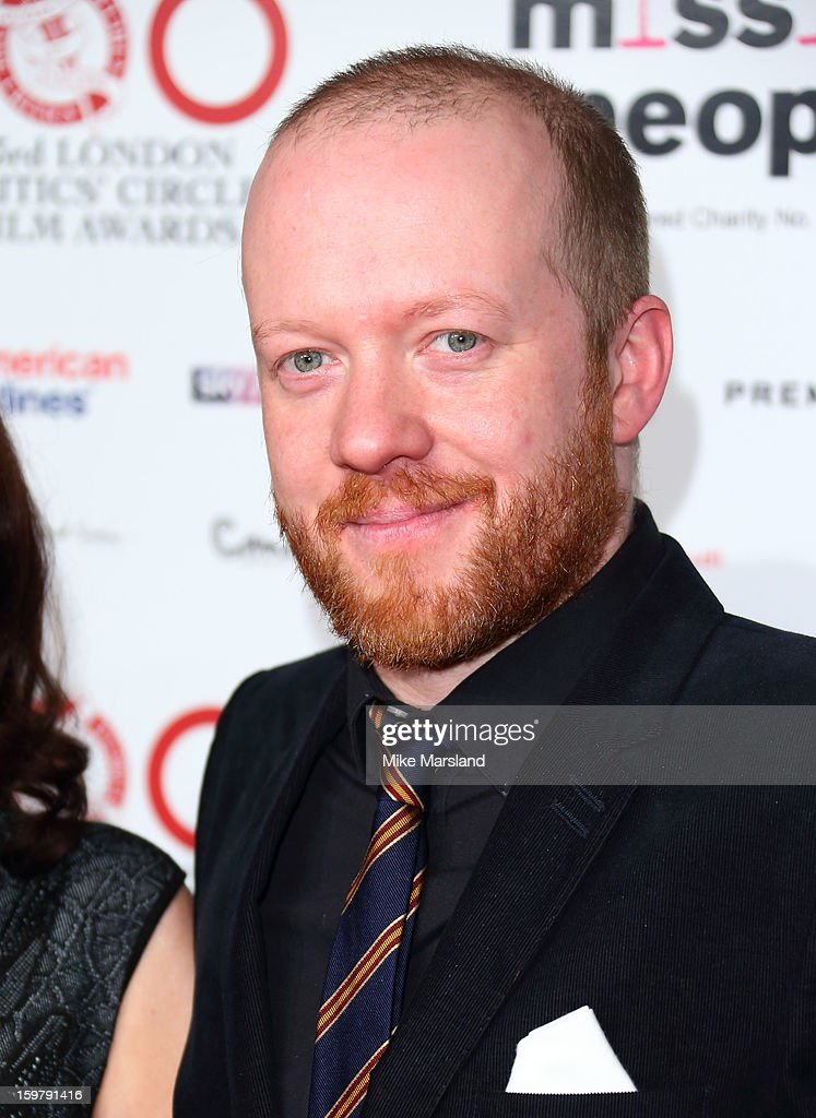 Steve Oram attends the London Film Critics Circle Film Awards at The Mayfair Hotel on January 20, 2013 in London, England.
