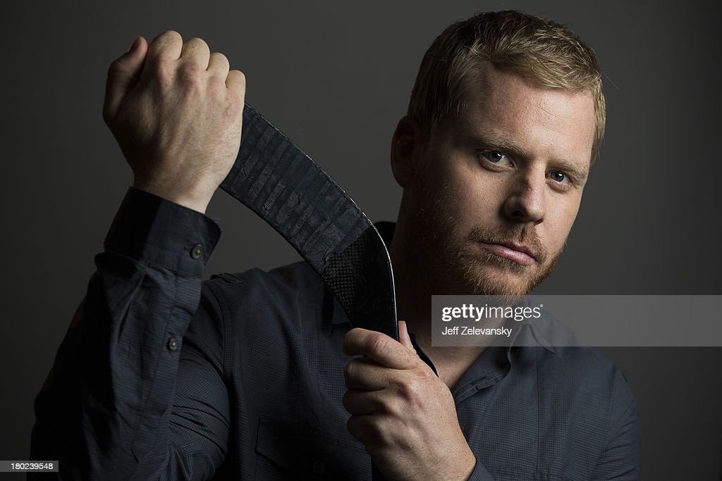 Steve Ott of the Buffalo Sabres is photographed during the NHL Media Tour at the Prudential Center on September 6, 2013 in Newark, New Jersey.