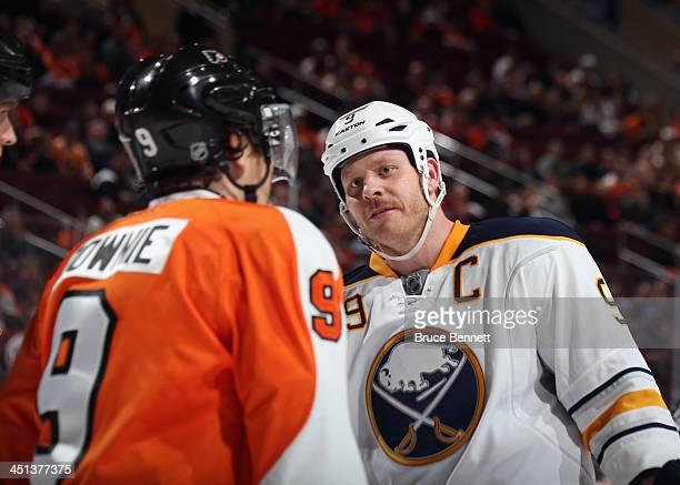 Steve Ott of the Buffalo Sabres skates against the Philadelphia Flyers at the Wells Fargo Center on November 21 2013 in Philadelphia Pennsylvania The...