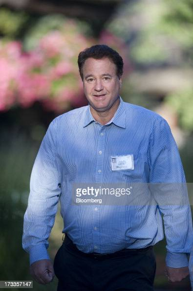 Steve Pagliuca managing director of Bain Capital LLC arrives for a morning session during the Allen Co Media and Technology Conference in Sun Valley...