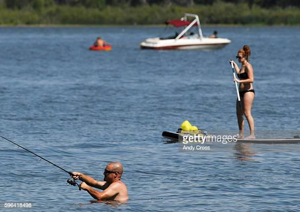 Rock creek reservoir stock photos and pictures getty images for Colorado fishing license age