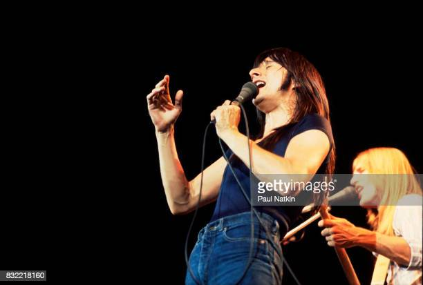 Steve Perry of Journey performs at the Rosemont Horizon in Rosemont Illinois May 27 1980
