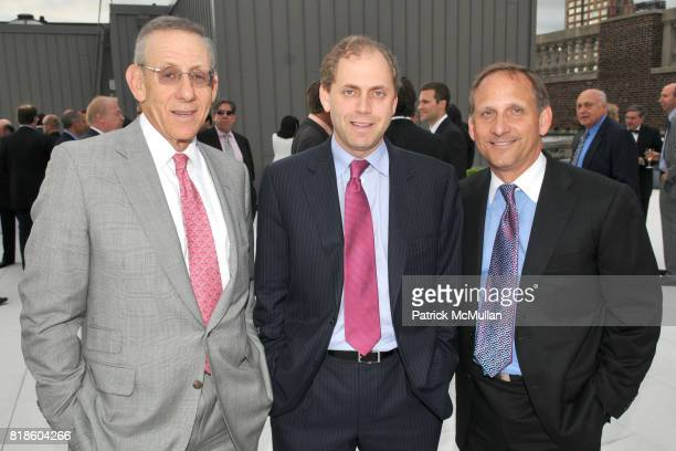 Steve Ross Bruce Beal and Richard Lavrich attend 200 Fifth Avenue 100th Birthday Celebration at 200 5th Avenue on June 17 2010 in New York City