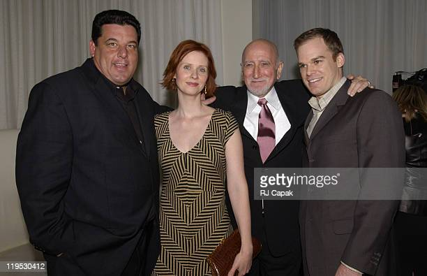 Steve Schirripa Cynthia Nixon Dominic Chianese and Michael C Hall