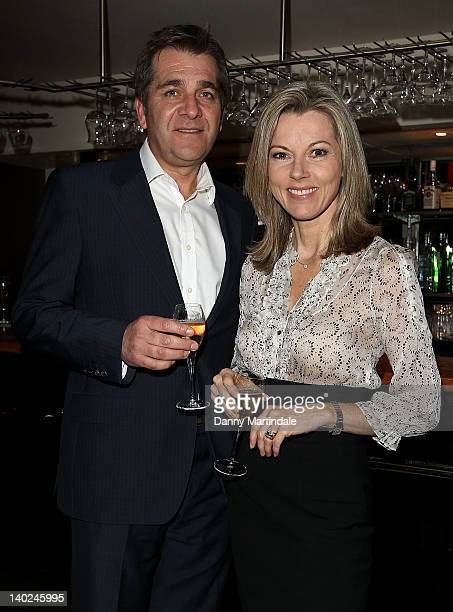 Steve Scott and Mary Nightingale attends The Ultimate News Quiz in aid of Action for Children Restless Development and Rory Peck Trust at Quaglino's...