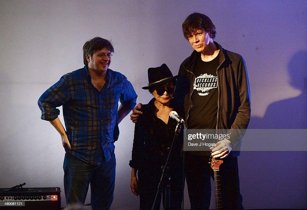 Yoko Ono Performs At Cafe OTO