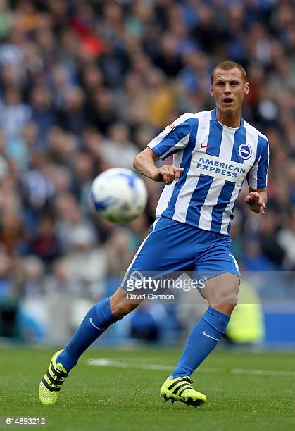 Steve Sidwell of Brighton and Hove Albion during the Sky Bet Championship match between Brighton Hove Albion and Preston North End at Amex Stadium on...