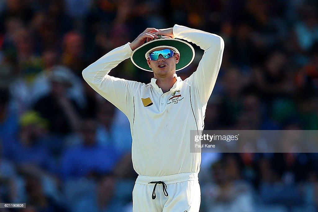 1st Test - Australia v South Africa: Day 3 : News Photo