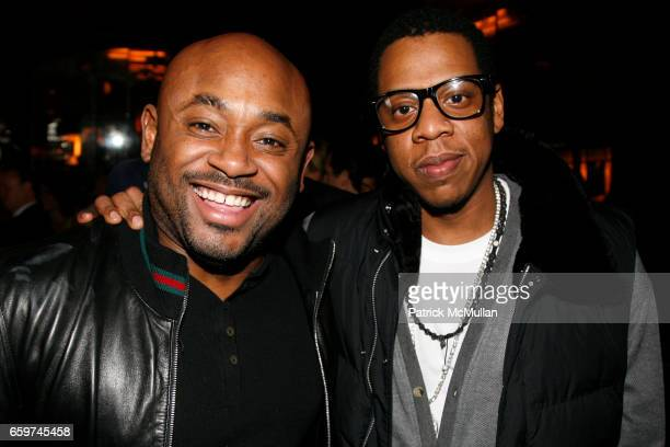 Steve Stout and JayZ attend TOPSHOP TOPMAN HOSTS PRIVATE DINNER TO CELEBRATE FLAGSHIP STORE OPENING at Balthazar on March 31 2009 in New York City
